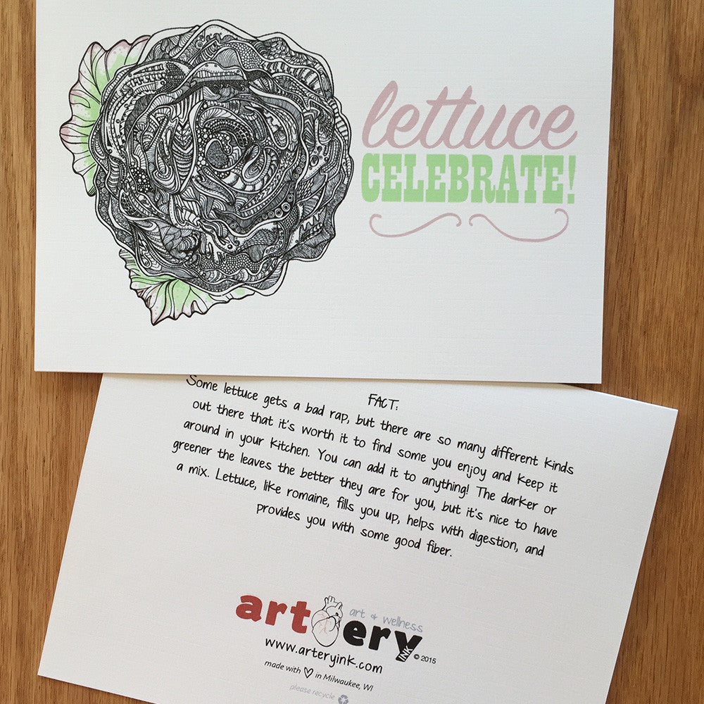 Lettuce Celebrate Any Occasion 8122 Arteryink
