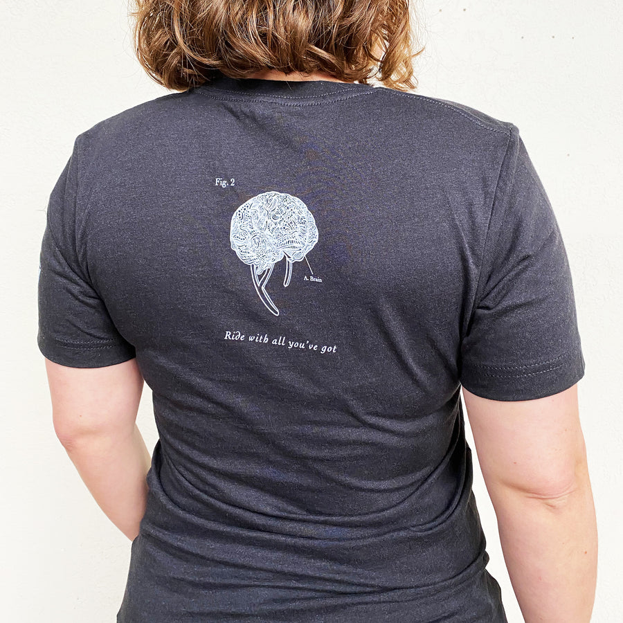 Anatomical Bicycle Unisex T. Shirt