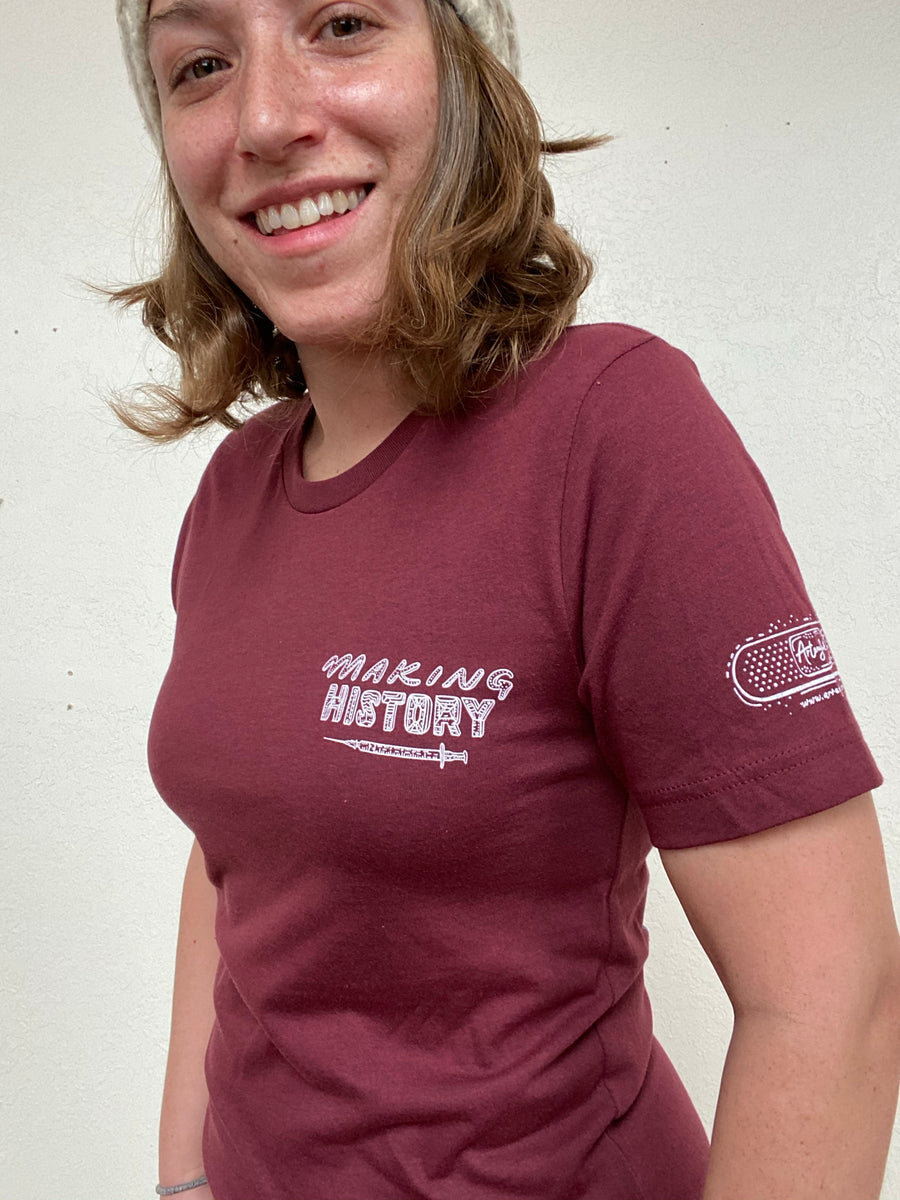 Making History - To A Better Future Unisex T.Shirt