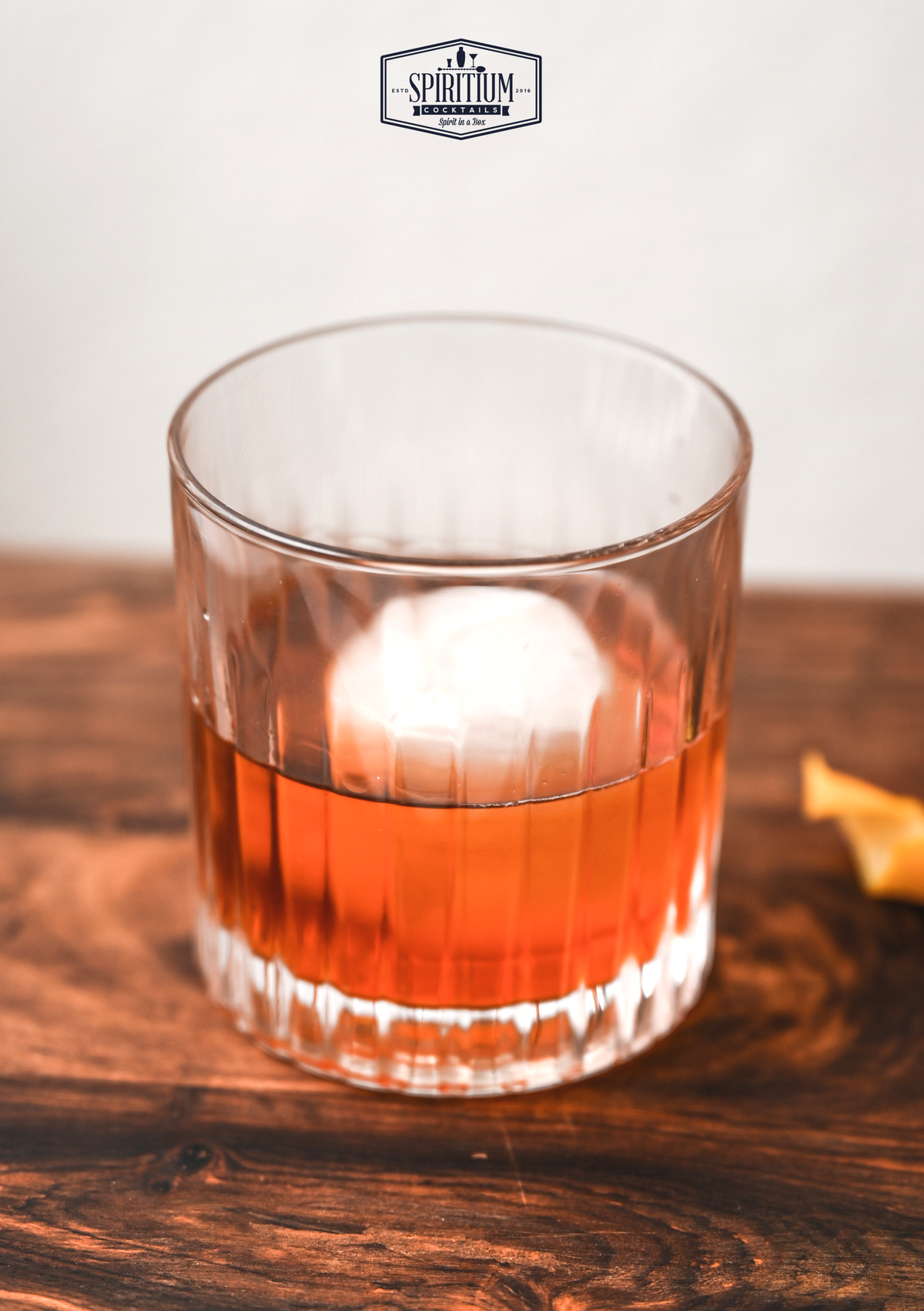 Opskrift: Rum Old Fashioned