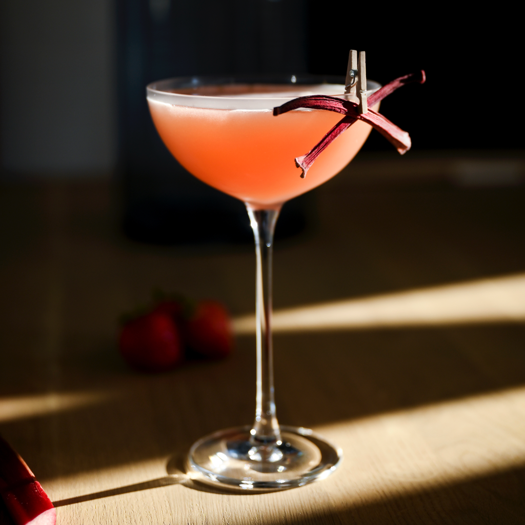 Rhuby Daiquiri Cocktail