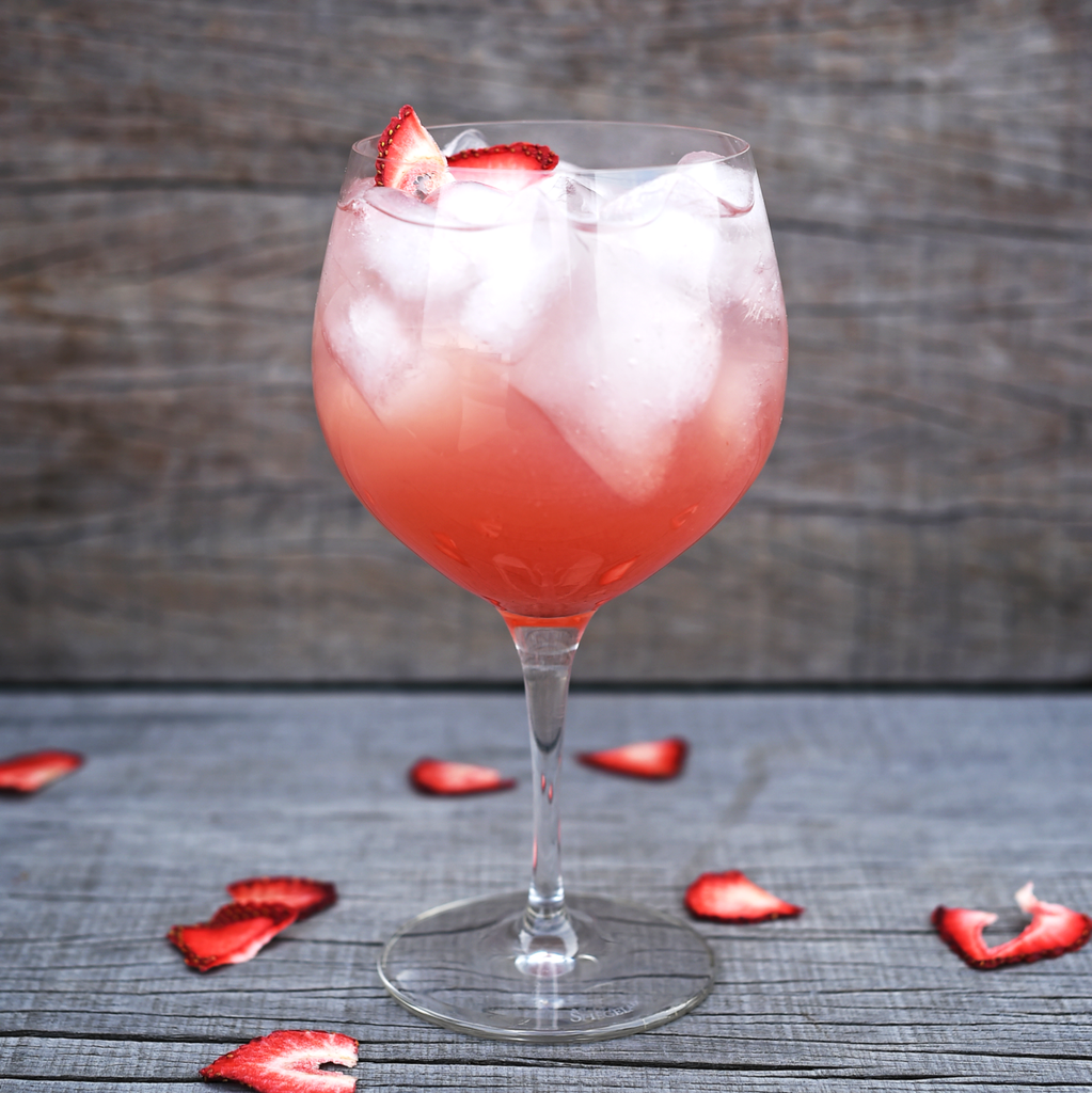 Strawberry Cooler Cocktail