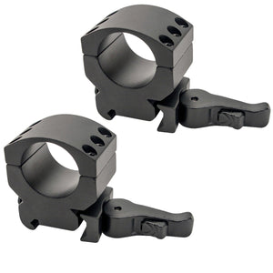 "1"" Xtreme Tactical Rings - Medium 1-2"" Height, Two Rings"