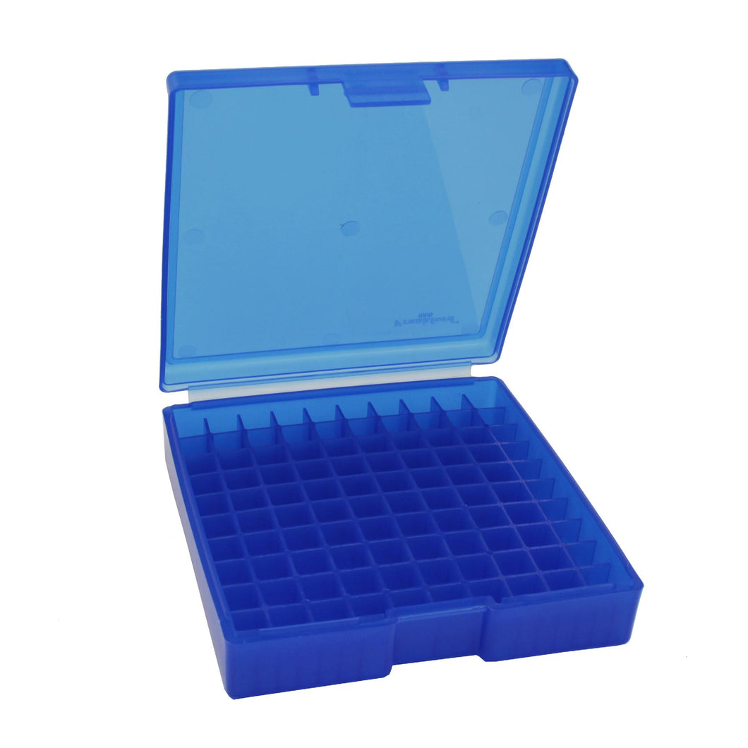 #1008 - Blue, 100 ct. Ammo Box, 45 ACP
