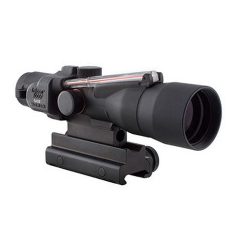 ACOG 3x30mm Compact Dual Illuminated Scope - Red Crosshair .300 Blackout 115-220gr Ball Reticle, Colt Knob Thumbscrew Mount