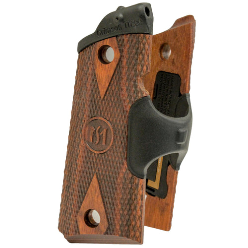 1911 Officer's-Compact-Defender - Cocobolo Diamond Pattern