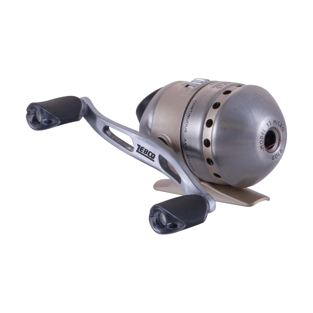 33 Micro - Gold Spincast Reel, Box