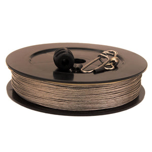180 lb HP Stainless Steel Downrigger Cable - 400 Foot Spool Kit
