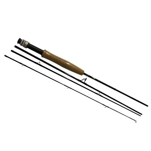 AETOS Fly Rod - 6' Length, 4 Piece Rod, 3wt Line Rating, Fly Power, Fast Action