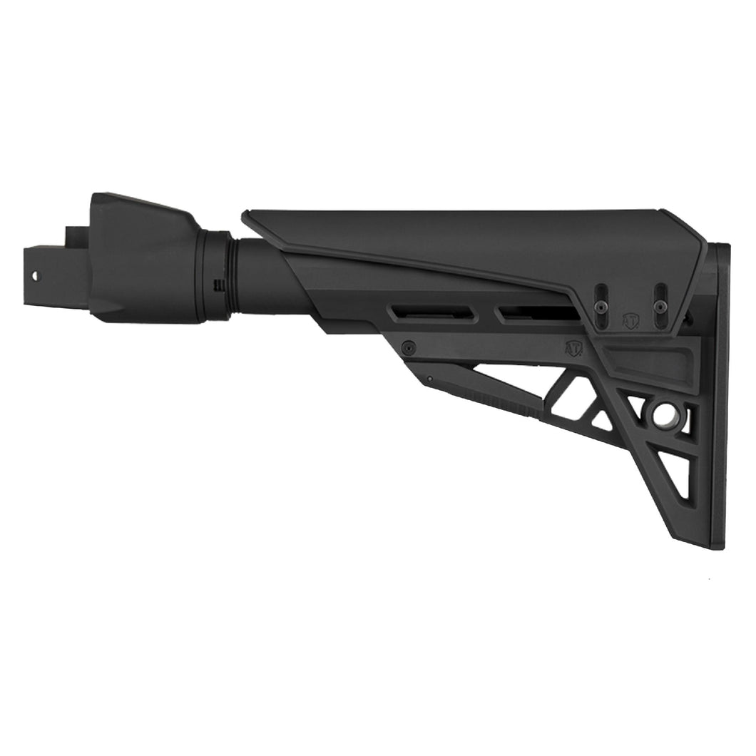 AK-47 TactLite Elite Adjustable Stock - with Scorpion Recoil Pad, Black