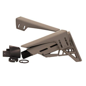 AK-47 TactLite Elite Adjustable Stock - with Scorpion Recoil Pad, Destroyer Gray