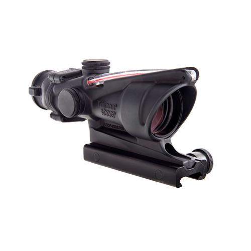 ACOG 4x32mm Dual Illuminated Scope - Red Crosshair .300 Blackout Reticle with TA51 Mount, Black