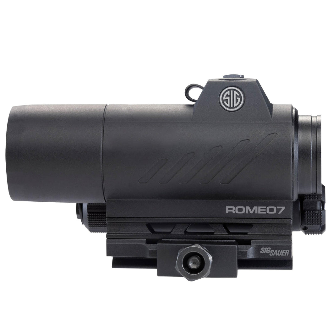 Romeo7 Full Size Red Dot Sight - 1x30mm, 3 MOA Red Dot Reticle, 0.5 MOA Adjustment, Black