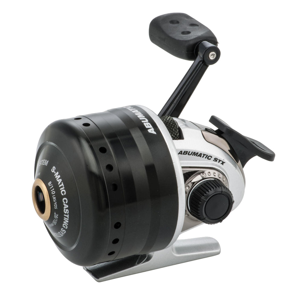Abumatic STX Spincast Reel - 3.6:1 Gear Ratio, 4 Bearings, 23