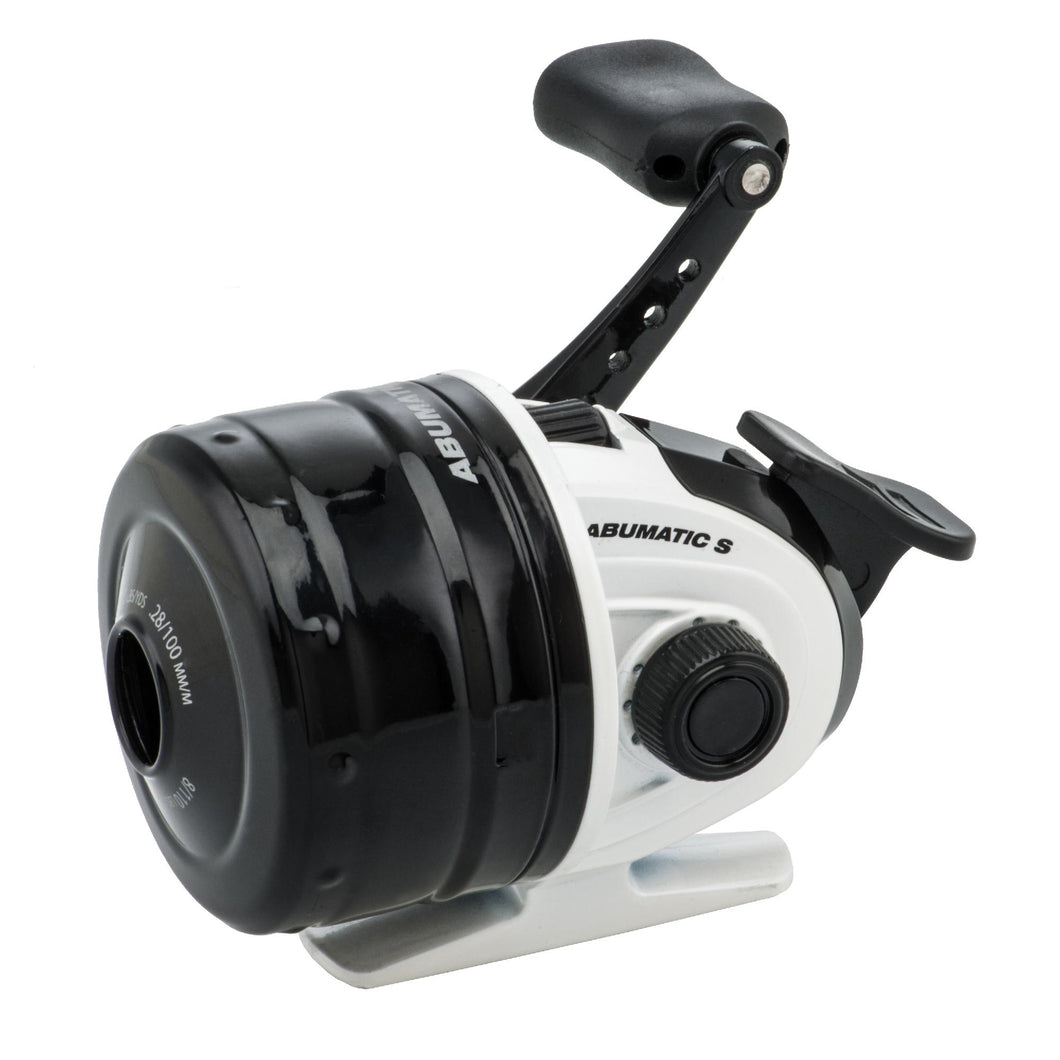 Abumatic S Spincast Reel - 10, 4.3:1 Gear Ratio, 2 Bearings, 22