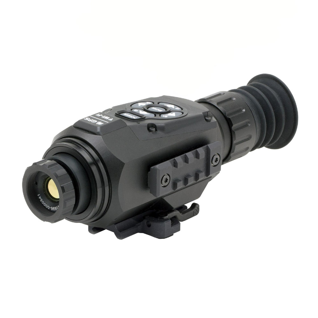 ThOR HD Thermal Rifle Scope - 1.5-15x, 25mm 640x480, HD Video Recording, Wi-Fi, GPS, Smooth Zoom, Matte Black