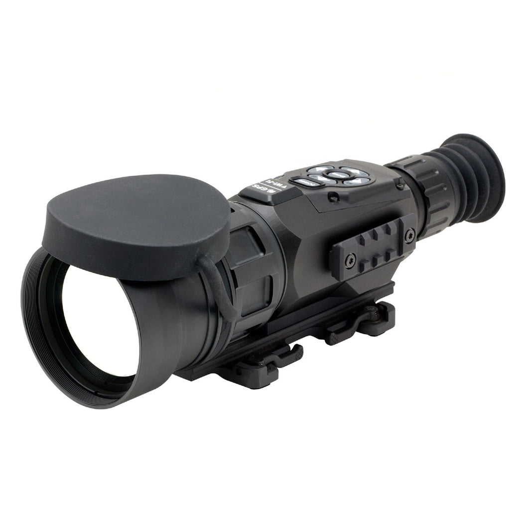 ThOR HD Thermal Rifle Scope - 5-50x, 100mm 640x480, HD Video Recording, Wi-Fi, GPS, Smooth Zoom, Matte Black