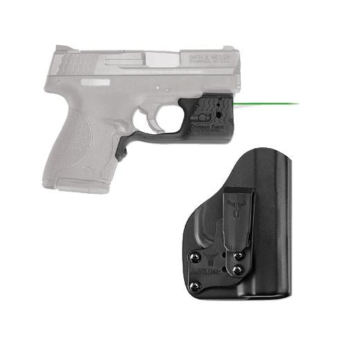 Laserguard Pro - M&P Shield, Green with Blade Tech IWB Holster, Boxed
