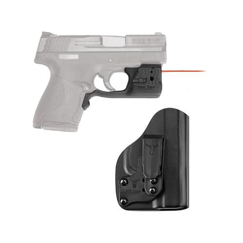Laserguard Pro - M&P Shield, Red with Blade Tech IWB Holster, Boxed