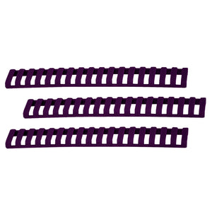 18 Slot Ladder Low Pro Rail Covers - Purple, Per 3