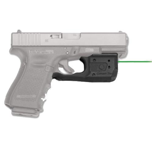 Laserguard Pro - Glock Gen 3 and 4, 17-19-22-35-37-38, Green Laser, Boxed