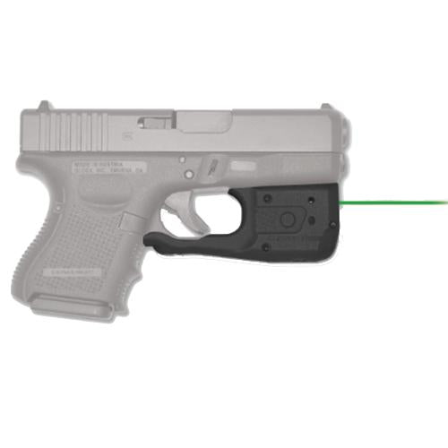 Laserguard Pro - Glock Gen 3 and 4, 26-27-29-30-33-36-39, Green Laser, Boxed
