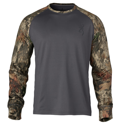 Hell's Canyon Speed Riser-FM Shirt - Long Sleeve, ATACS Tree-Dirt Extreme, Large