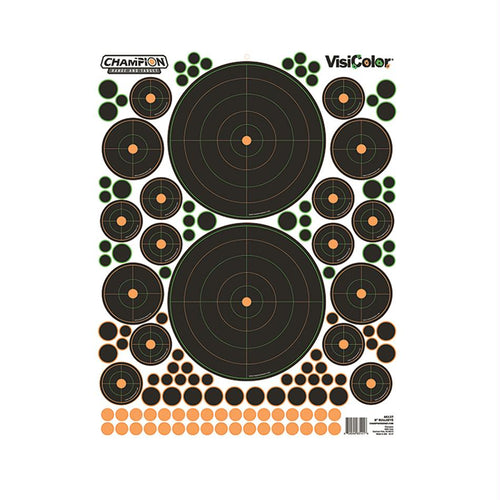 Peel and Stick Targets - Bullseye, Variety, Package of 5