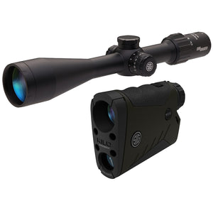 BDX Combo Kit, KILO2400 and Sierra3 6.5-20x52mm Scope, Black