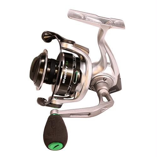 Energy Spinning Reel - Size 25, 5.2:1 Gear Ratio, 8BB+1RB Bearings, 16 lb Max Drag, Ambidextrous