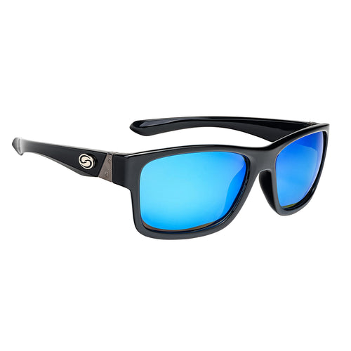 Jordan Lee Pro Series Sunglasses - Shinny Black Frame, Gray Lens