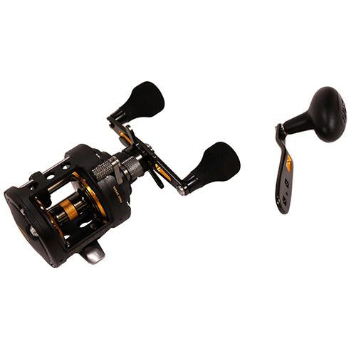 Fathom II Level Wind Saltwater Casting Reel - 15, 5.5:1 Gear Ratio, 30