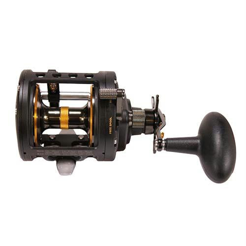 Fathom II Level Wind Saltwater Casting Reel - 30, 4.3:1 Gear Ratio, 31