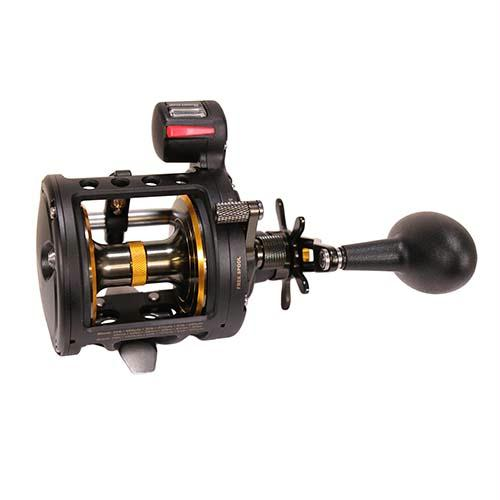 Fathom II Level Wind Line Counter Saltwater Casting Reel - 30, 4.3:1 Gear Ratio, 31