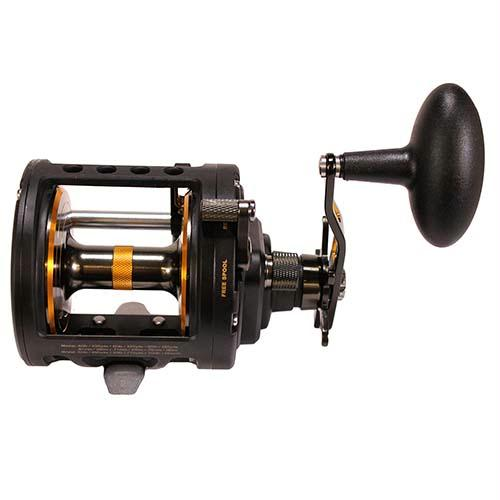 Fathom II Level Wind Saltwater Casting Reel - 50, 3.7:1 Gear Ratio, 30