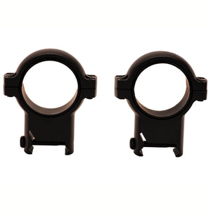 30mm Zee Rings - Extra High Black Matte