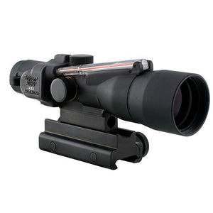 ACOG 3x30mm Compact Dual Illuminated Scope - Red Crosshair .223-69gr Rem Ball Reticle with Colt Knob Thumbscrew Mount, Black