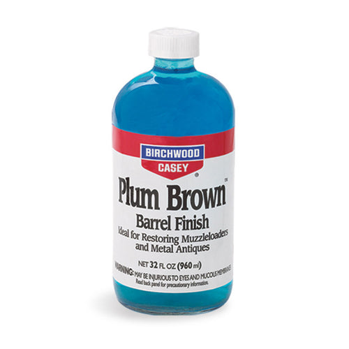 Plum Brown Barrel Finish 32 oz