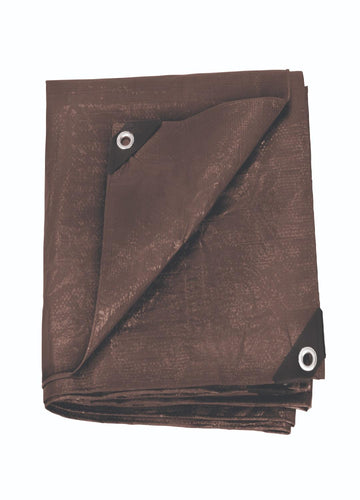 Stansport Rip Stop Tarp 12 Ft X 16 Ft Brown Standard Duty