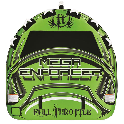 Full Throttle Mega Enforcer 80in D-Shaped Tube -Green