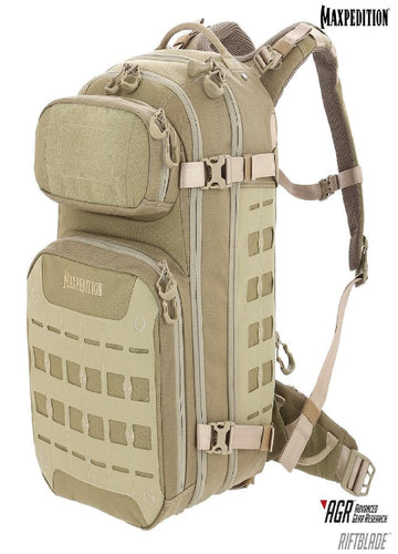 Maxpedition RIFTBLADE CCW-Enabled Backpack Tan