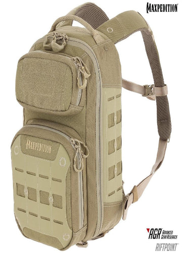 Maxpedition RIFTPOINT CCW-Enabled Backpack Tan
