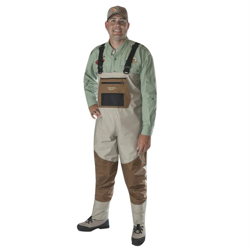Caddis Men's Deluxe Breathable Stockingfoot Waders - M Stout