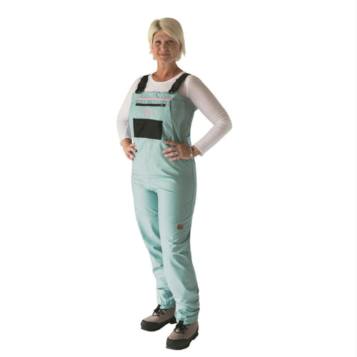 Caddis Women's Teal Deluxe Breathable Stockingfoot Waders S