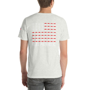 """Reel Patriotic"" Short-Sleeve Unisex T-Shirt"