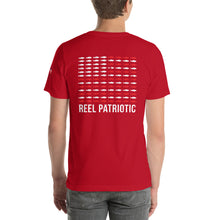 "Load image into Gallery viewer, ""Reel Patriotic"" Short-Sleeve Unisex T-Shirt"
