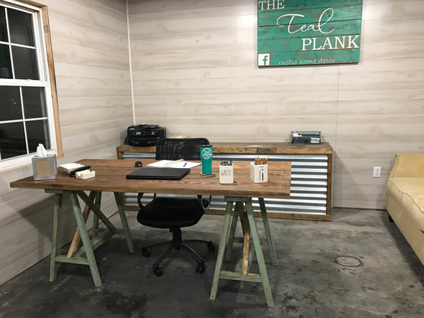 The Executive Farmhouse Desk