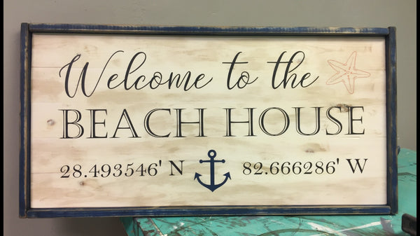 Large Plank Sign {3 Foot}  PRIVATE PARTIES