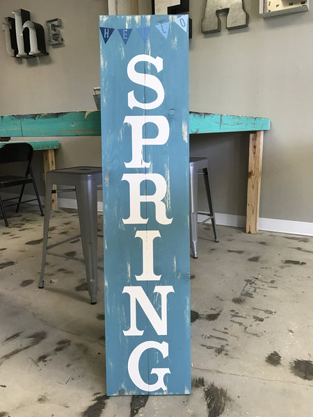 Leaning Porch Signs {Double Sided} PRIVATE PARTIES