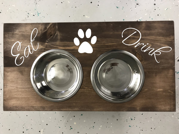Dog Bowl Stand PRIVATE PARTIES